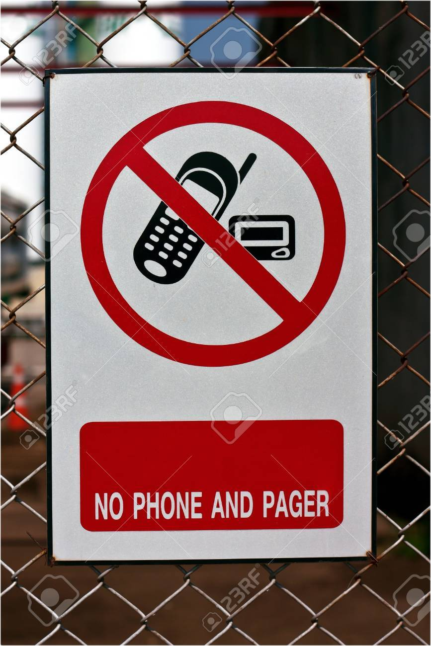 No use phone sign Stock Photo - 11498226