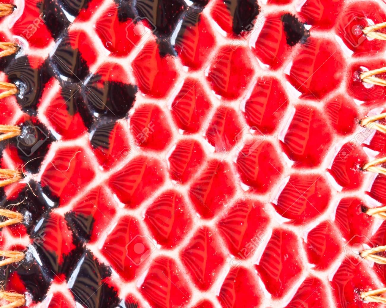 Closeup of Synthetic leather texture. Stock Photo - 14826472