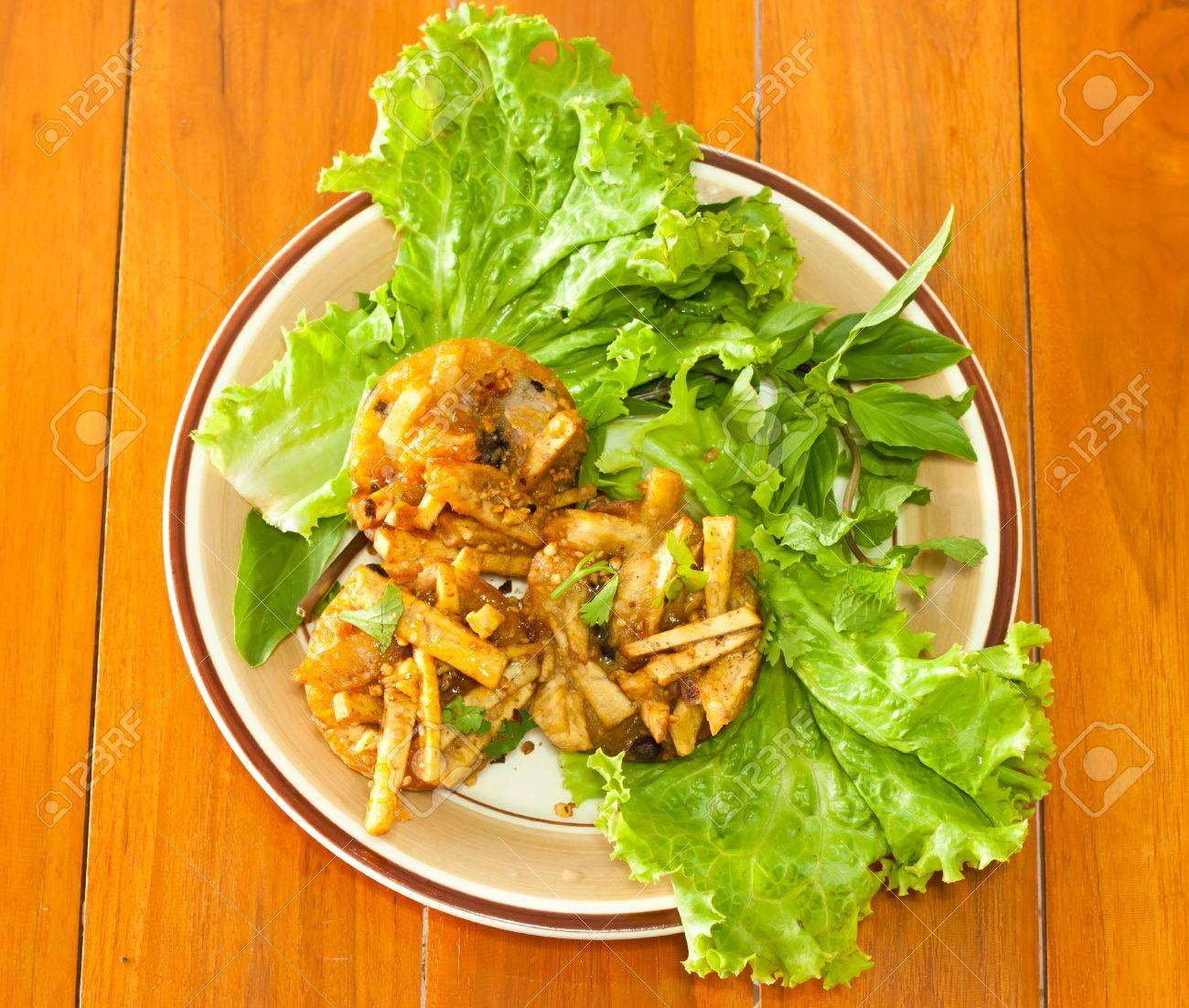 Fried Taro Stock Photo - 15150327