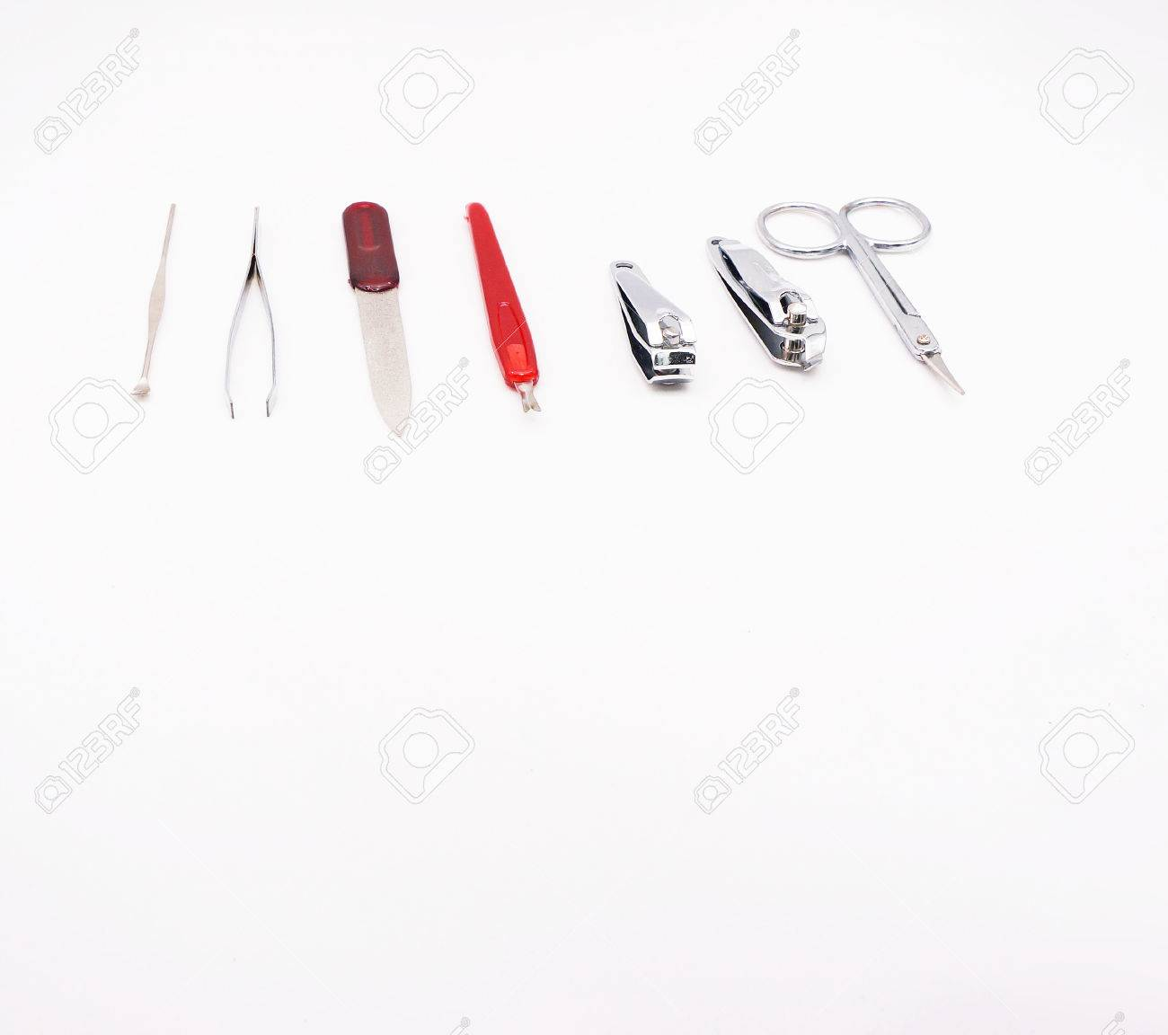 Nail Kit Are Many Types Of Equipment For Example Nail Clippers ...