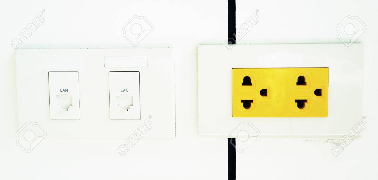 Electrical Outlet Yellow Color Is A Sign That If The Arbitrary