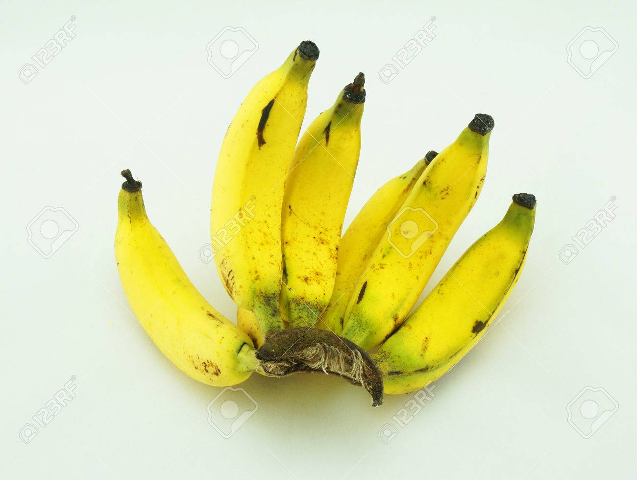 Thai Banana They Are Small And Skinny Size Yellow Color Very