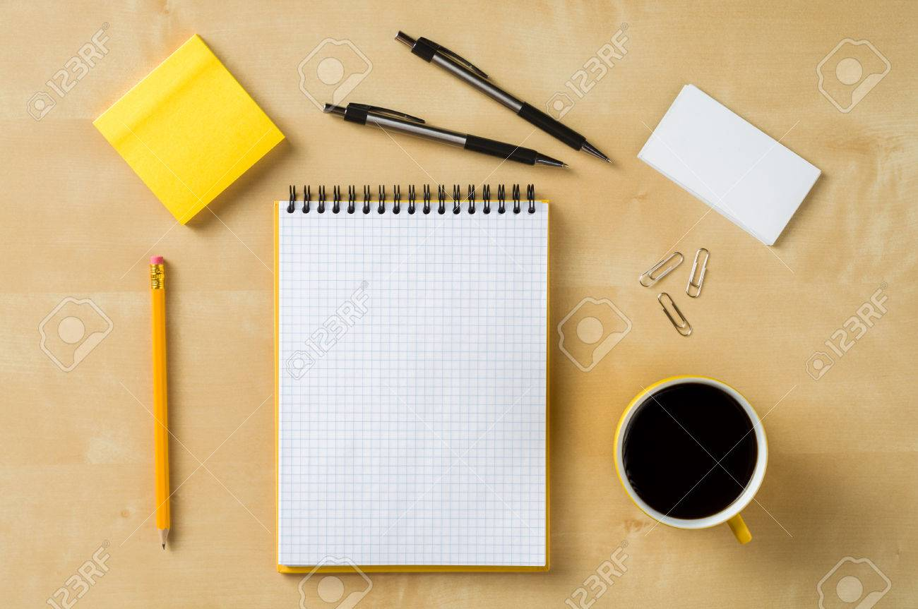 office table top view. Perfect View Office Table Top View Stock Photo  29838367 Throughout Office Table Top View Y