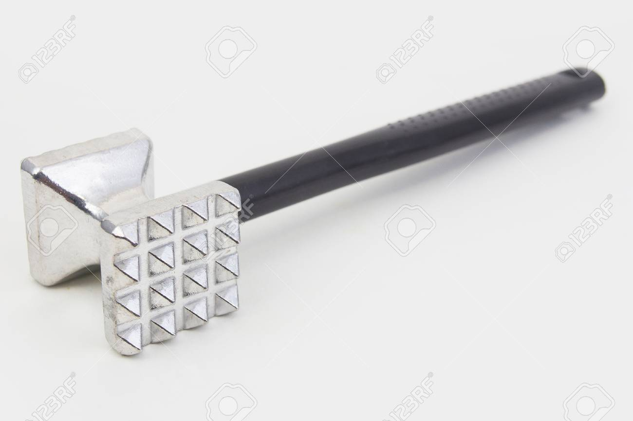 Beef Hammer Tool For Cooking In Kitchen Stock Photo Picture And Royalty Free Image Image 63951942