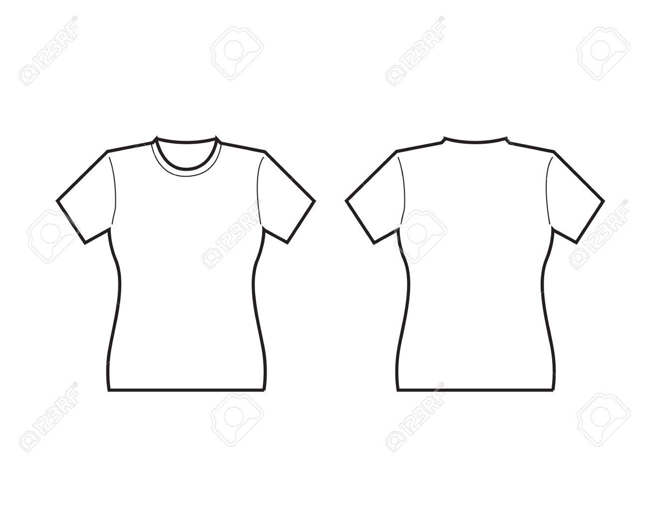 Beste T Shirt Umriss Vorlage Zeitgenössisch - Beispiel ...