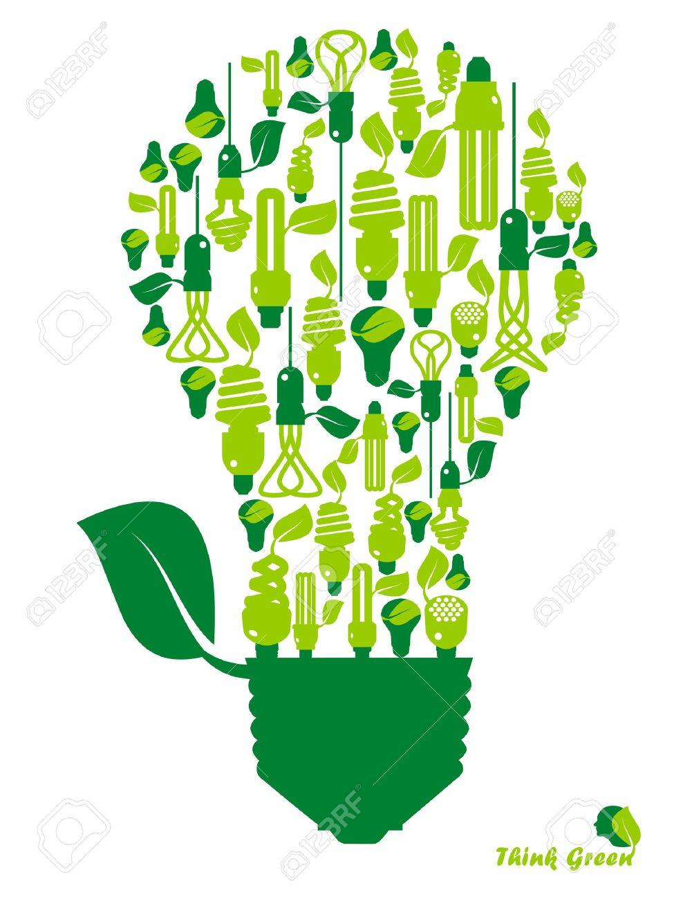 ecology, energy, environment, green grow, growth, icon Stock Vector - 11217244