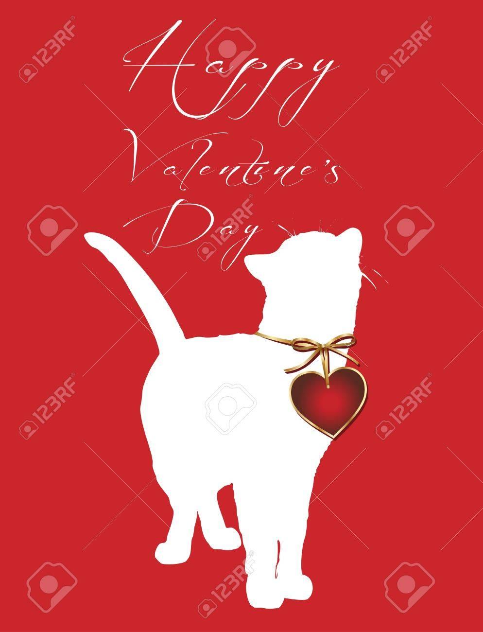 happy valentine s day Stock Vector - 11826029