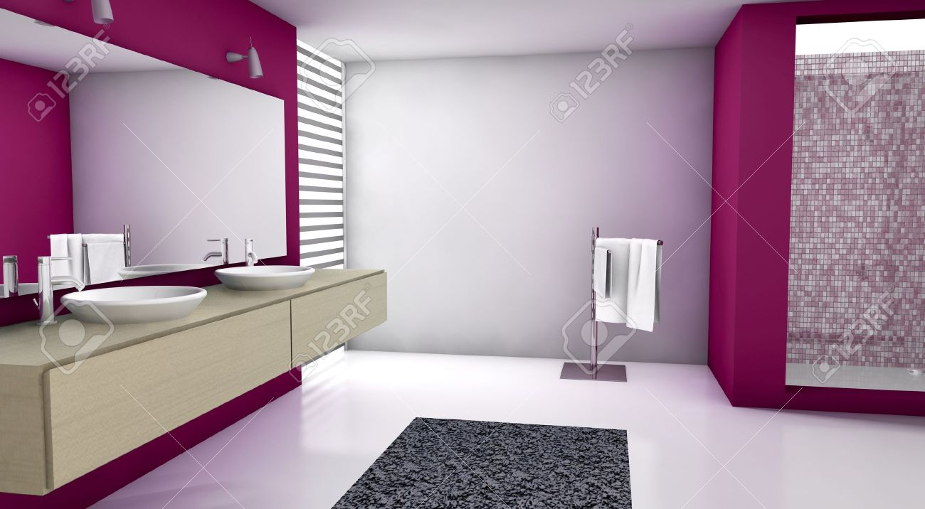 Awesome Bagno Moderno Colorato Ideas - Skilifts.us - skilifts.us