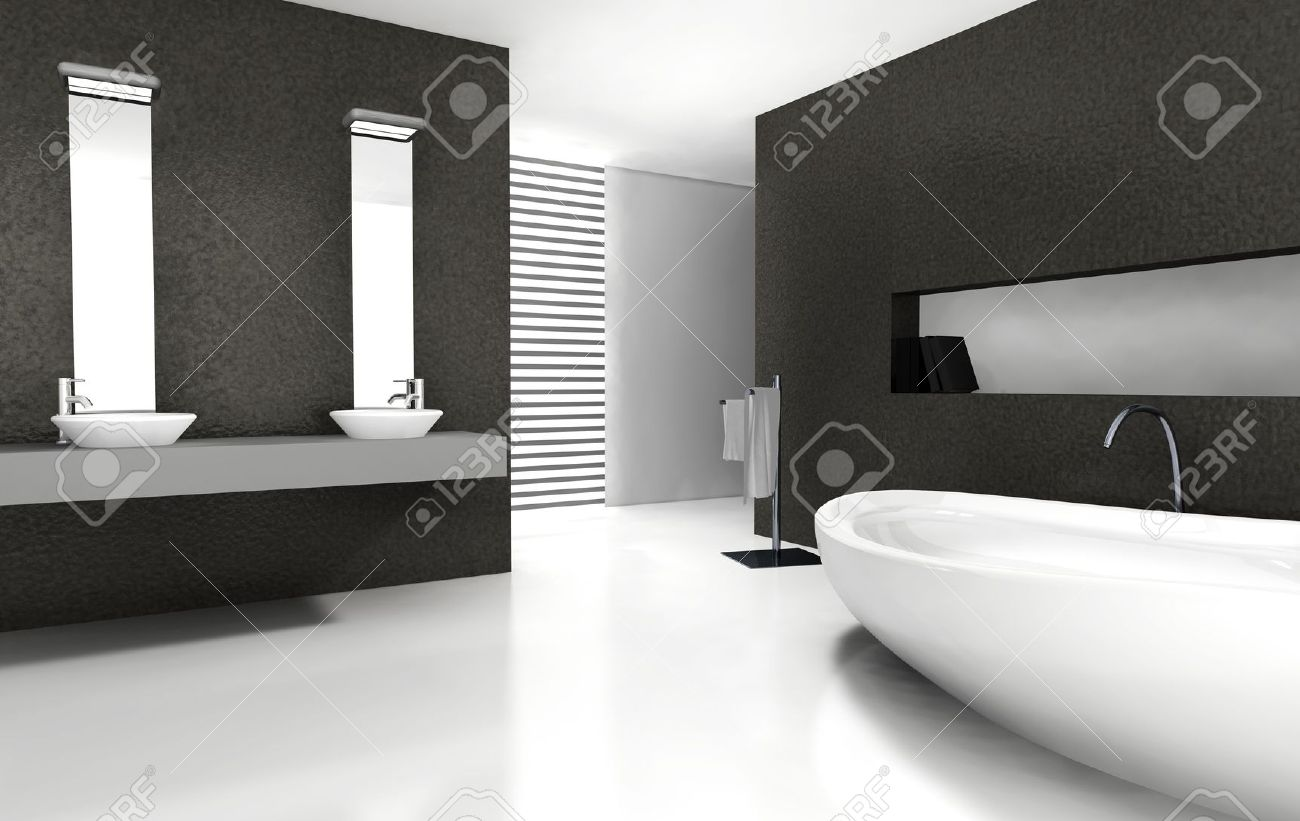 Bagno Moderno Bianco E Nero.Mobile Bagno Moderno Bianco Latest Quali Mobili Sistemare In Bagno