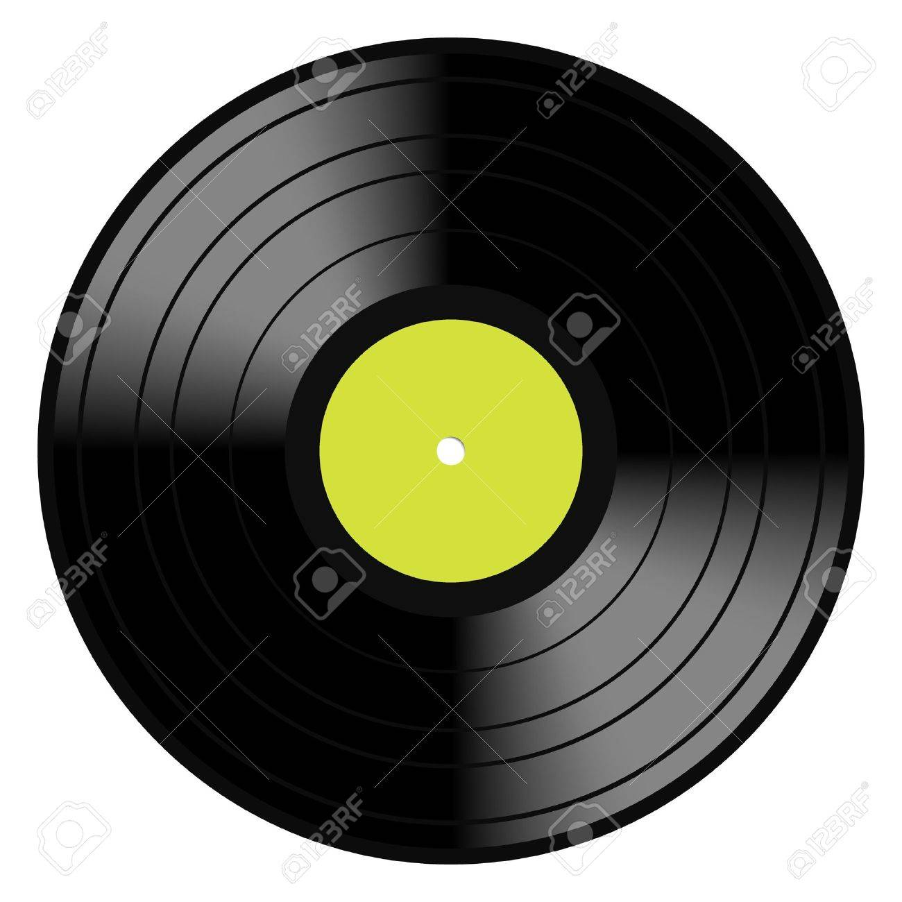 vector illustration image of a vintage and analog 33 rpm lp vinyl rh 123rf com vinyl vector download vinyl vector download