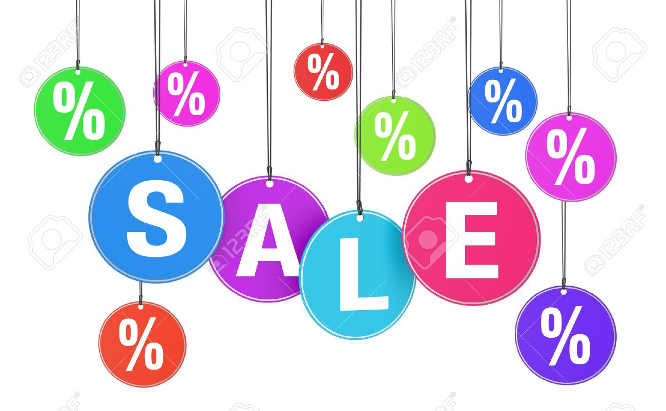 Sale, Discount And Promotion Shopping Concept With Sale Word ...
