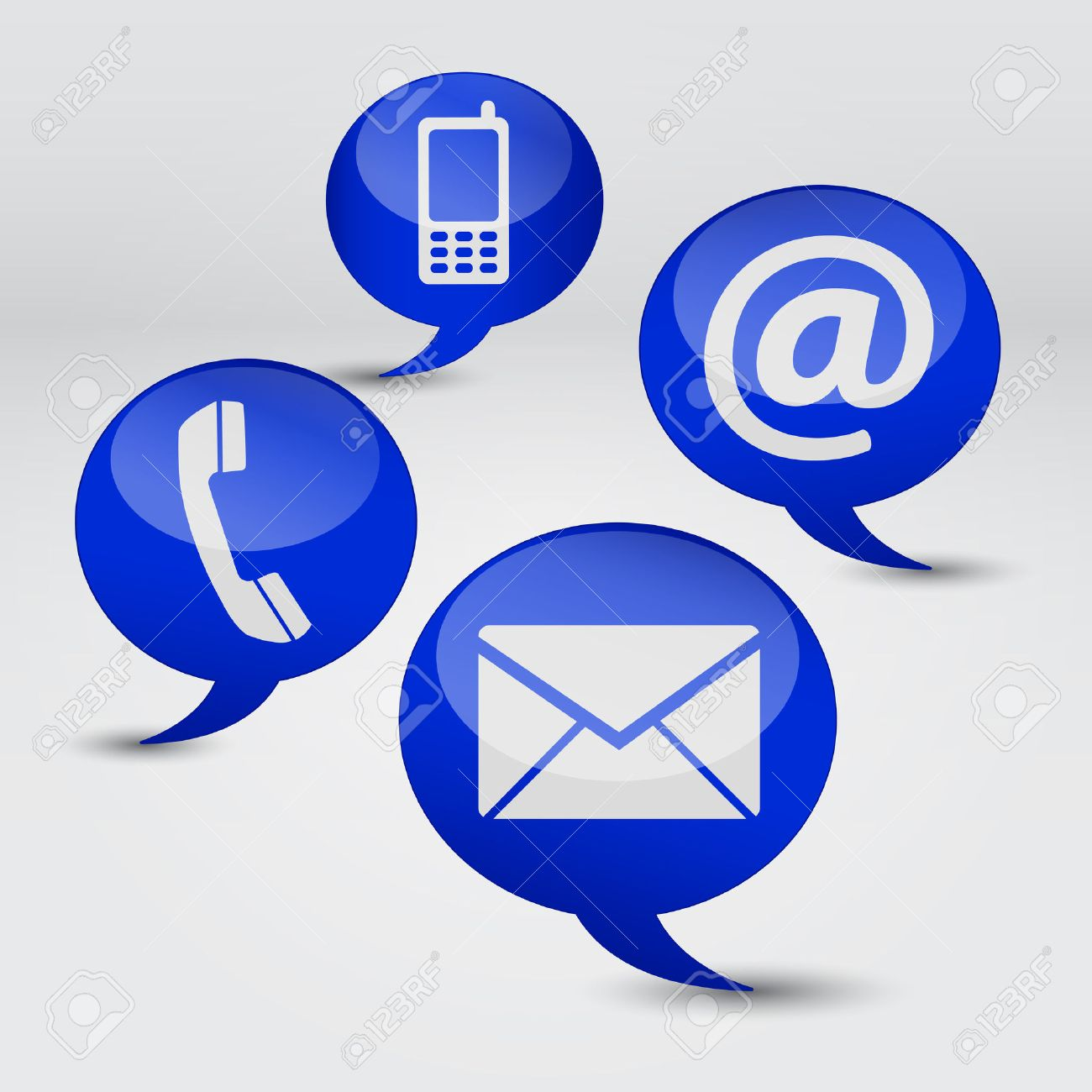 Web contact us internet concept with email mobile phone and web contact us internet concept with email mobile phone and at icon and symbol on biocorpaavc
