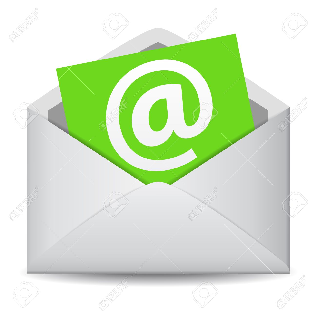 Email Icon Vector Clip Art For Web Contact And Business Newsletter ...