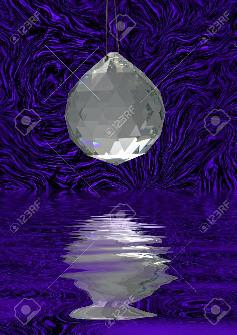 Crystal decoration Stock Photo - 15827070