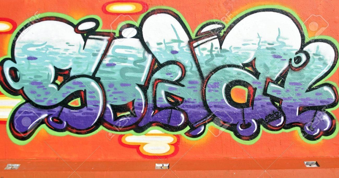 Graffiti wall amsterdam - Graffiti Wall In Amsterdam The Netherlands Stock Photo 23672744