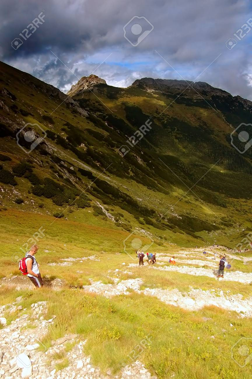 Tatra Mountains stormy landscape Stock Photo - 1134557