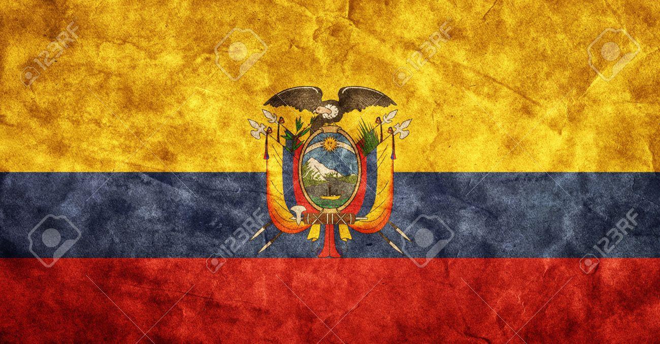 Ecuador Grunge Flag Vintage Retro Style High Resolution Hd - Ecuador flags