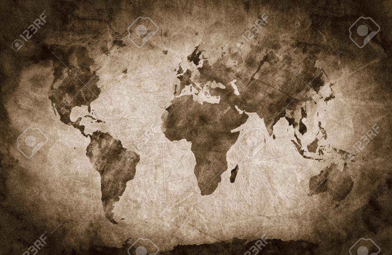 Ancient old world map pencil sketch grunge vintage background ancient old world map pencil sketch grunge vintage background texture sepia gumiabroncs Gallery