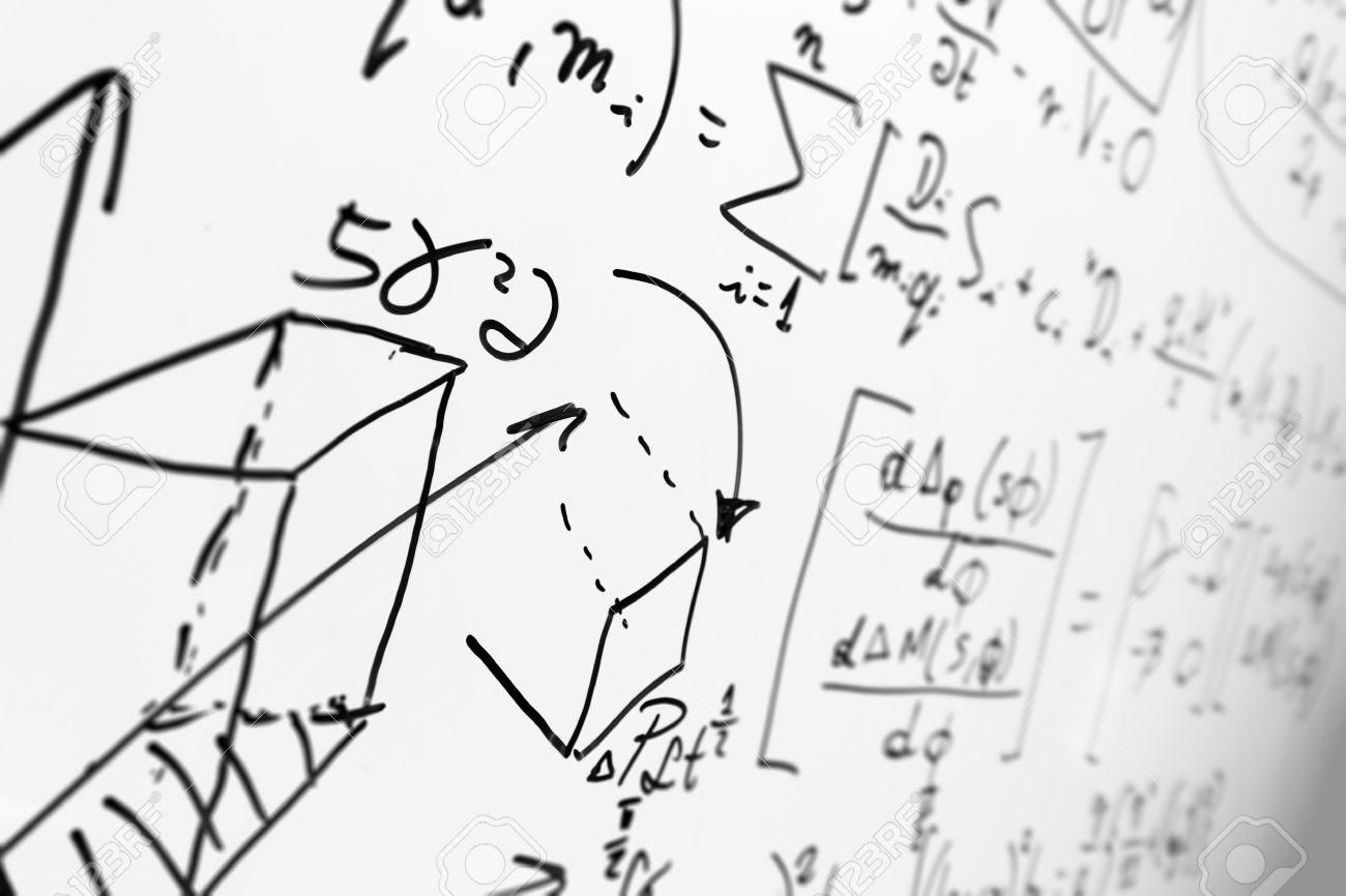 Complex math formulas on whiteboard mathematics and science with complex math formulas on whiteboard mathematics and science with economics concept real equations biocorpaavc Choice Image