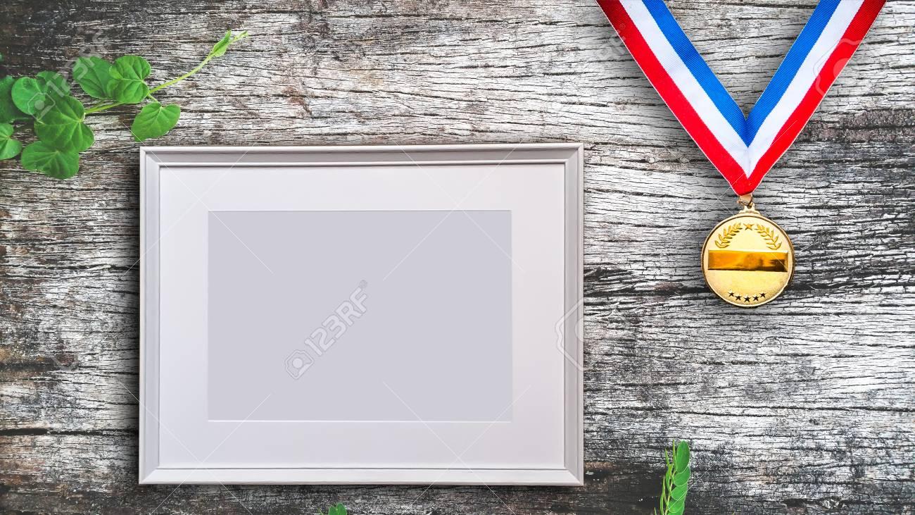 Plantilla De Marco De Imagen En Blanco Para Galería De Arte De ...