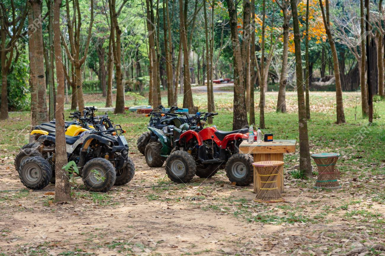 ATV 4x4 Extreme rider get ready to Journey through the jungle