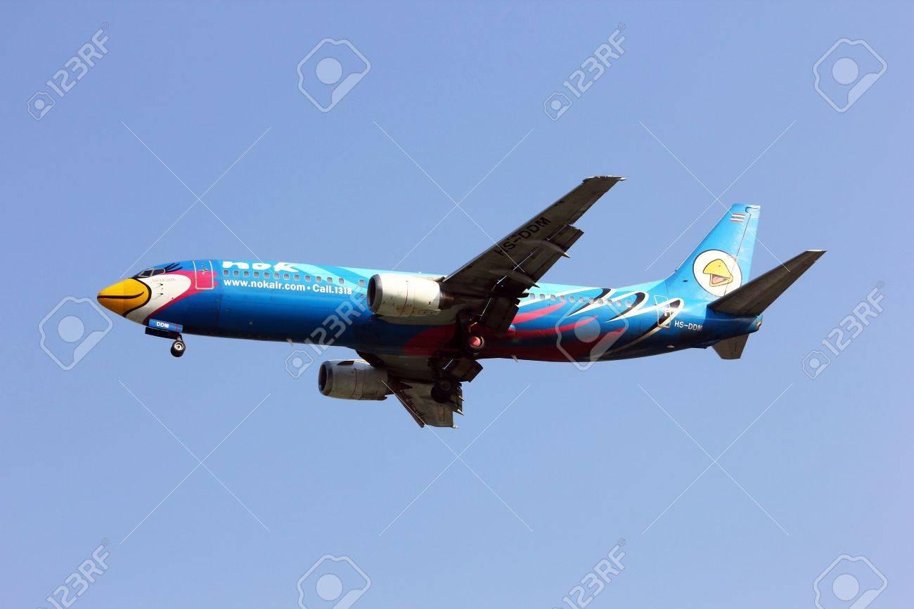 boeing 737 400, Nokair, lowcost thailand airline