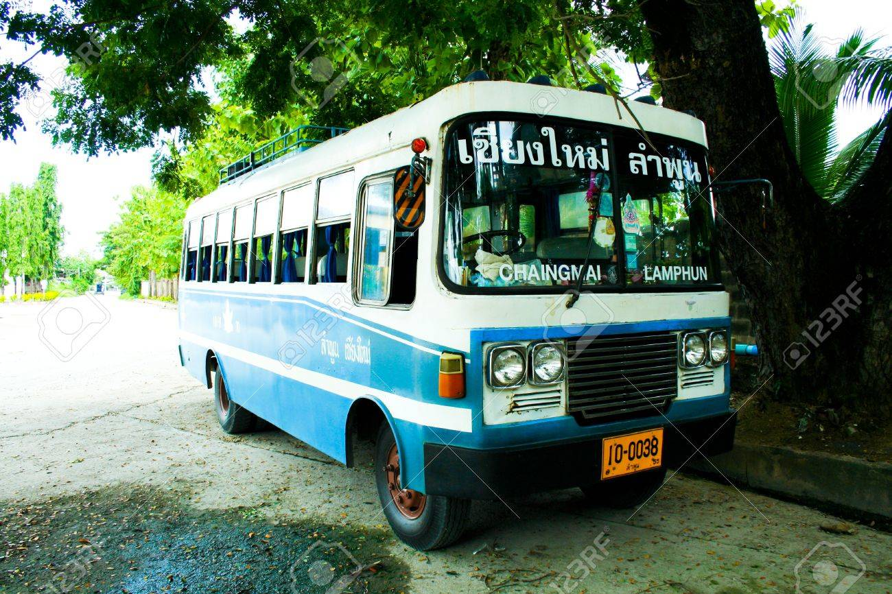 Image result for old lamphun chiang mai bus