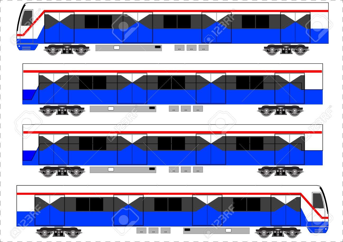 Sky train, Bangkok Thailand, Vector Stock Vector - 21809223