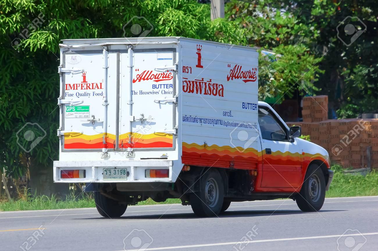 Chiang Mai Thailand 3 Oktober 2014 Kühlbehälter Mini Lkw Von