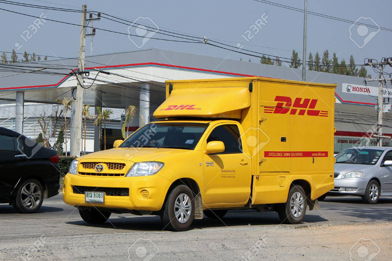 Dhl Pickup Locations >> Chiangmai Thailand February 5 2015 Dhl Express And Logistics