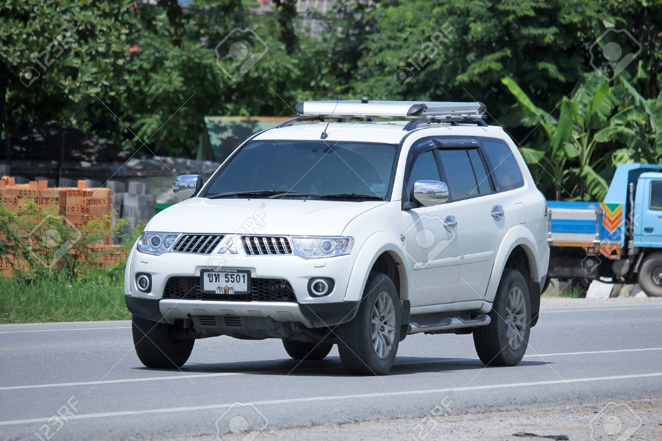 Chiangmai Thailand August 21 2015 Private Mitsubishi Challenger Stock Photo Picture And Royalty Free Image Image 45640913