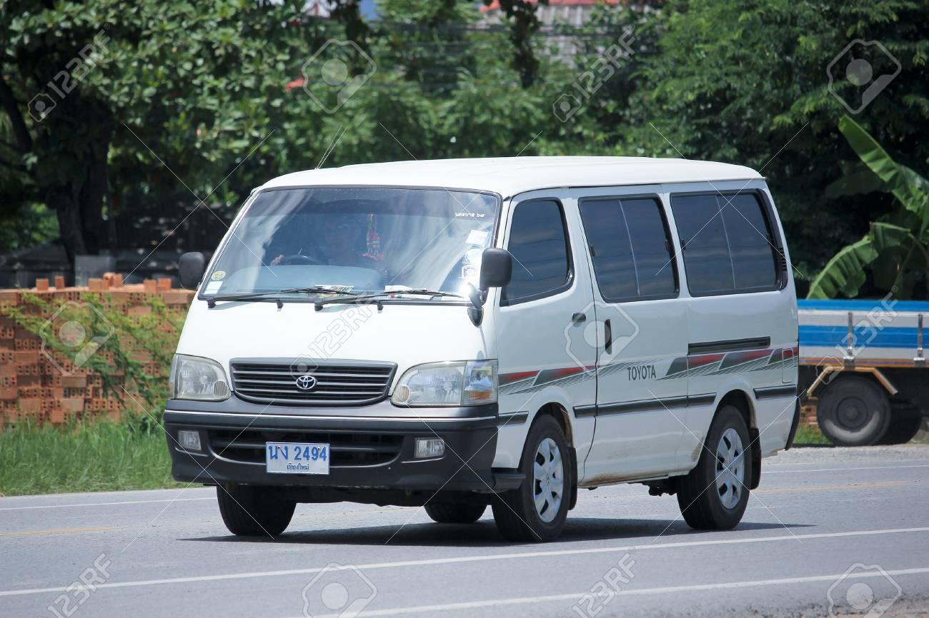 Chiangmai Thailand Augustus 22 2015 Prive Toyota Forens Busje