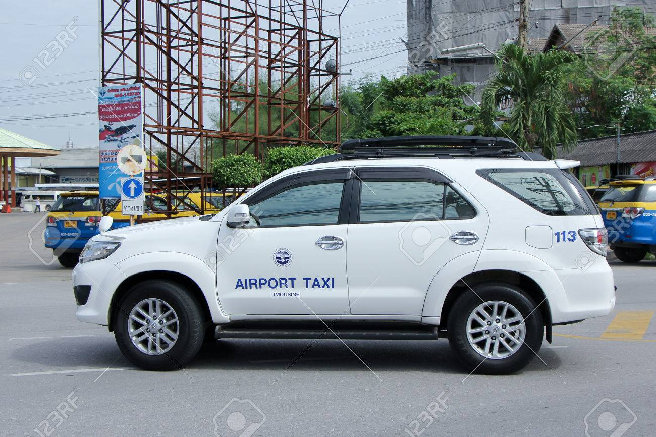 CHIANGMAI, THAILAND -SEPTEMBER 26 2015: Chiangmai Airport Taxi,