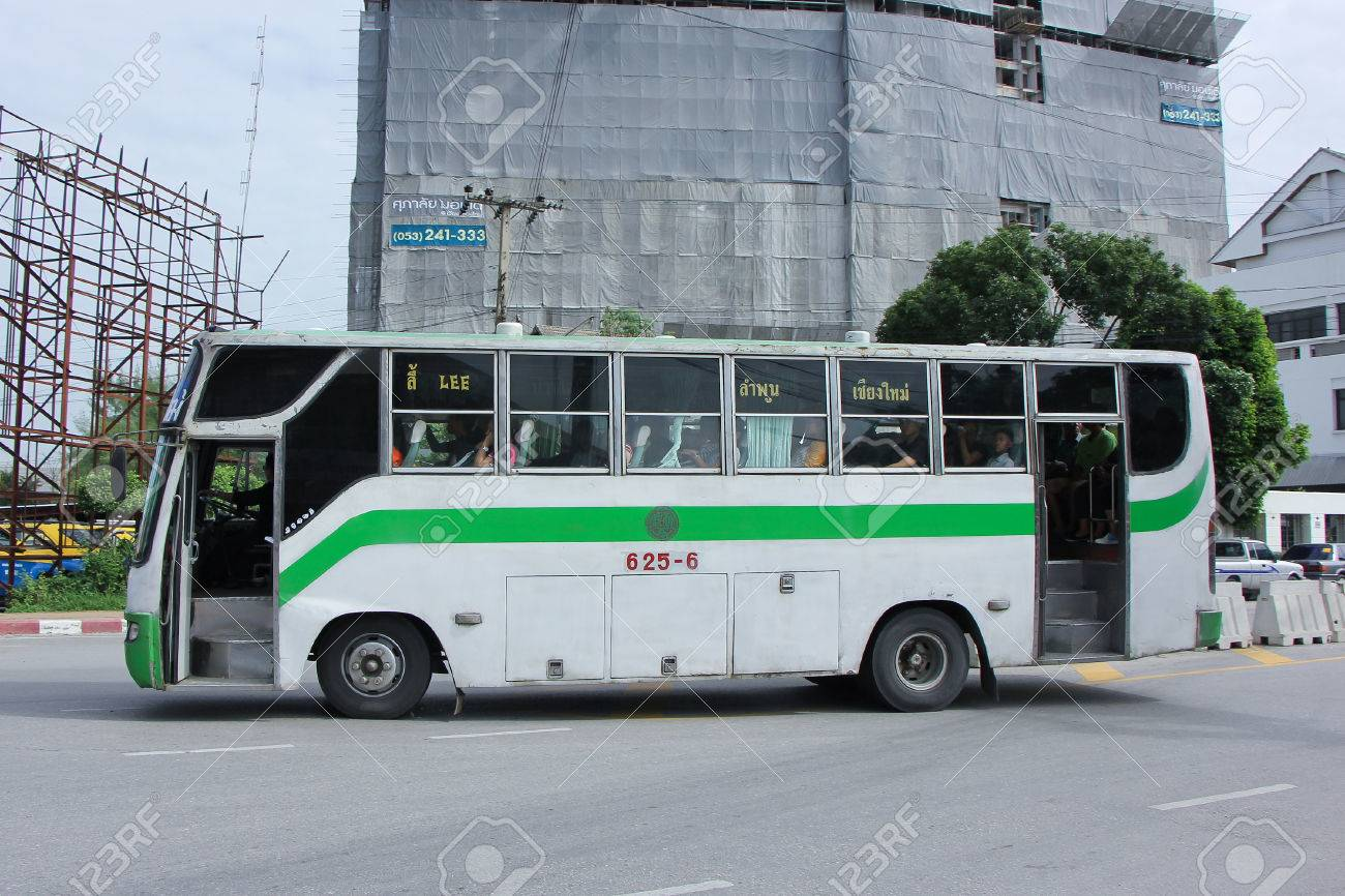 CHIANGMAI, THAILAND -SEPTEMBER 26 2015: Cooperative Limited passenger