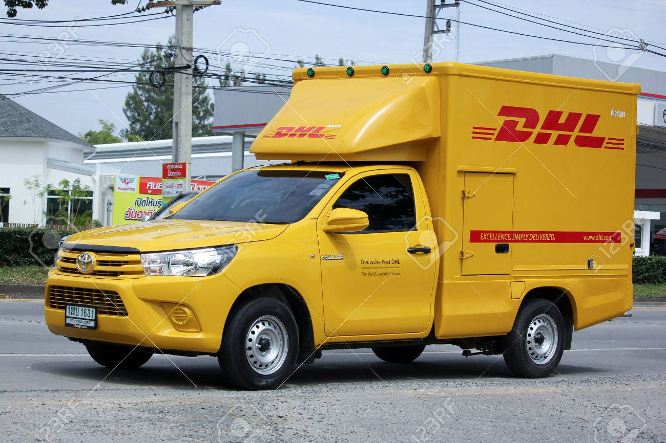 Dhl Pickup Locations >> Chiangmai Thailand September 1 2015 Dhl Express And Logistics