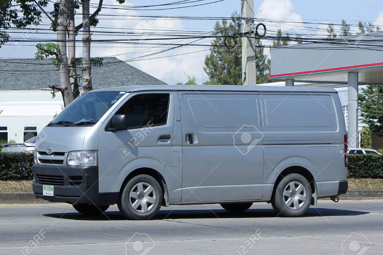 CHIANGMAI THAILAND NOVEMBER 2 2015 Private Toyota Cargo Van Photo At Road