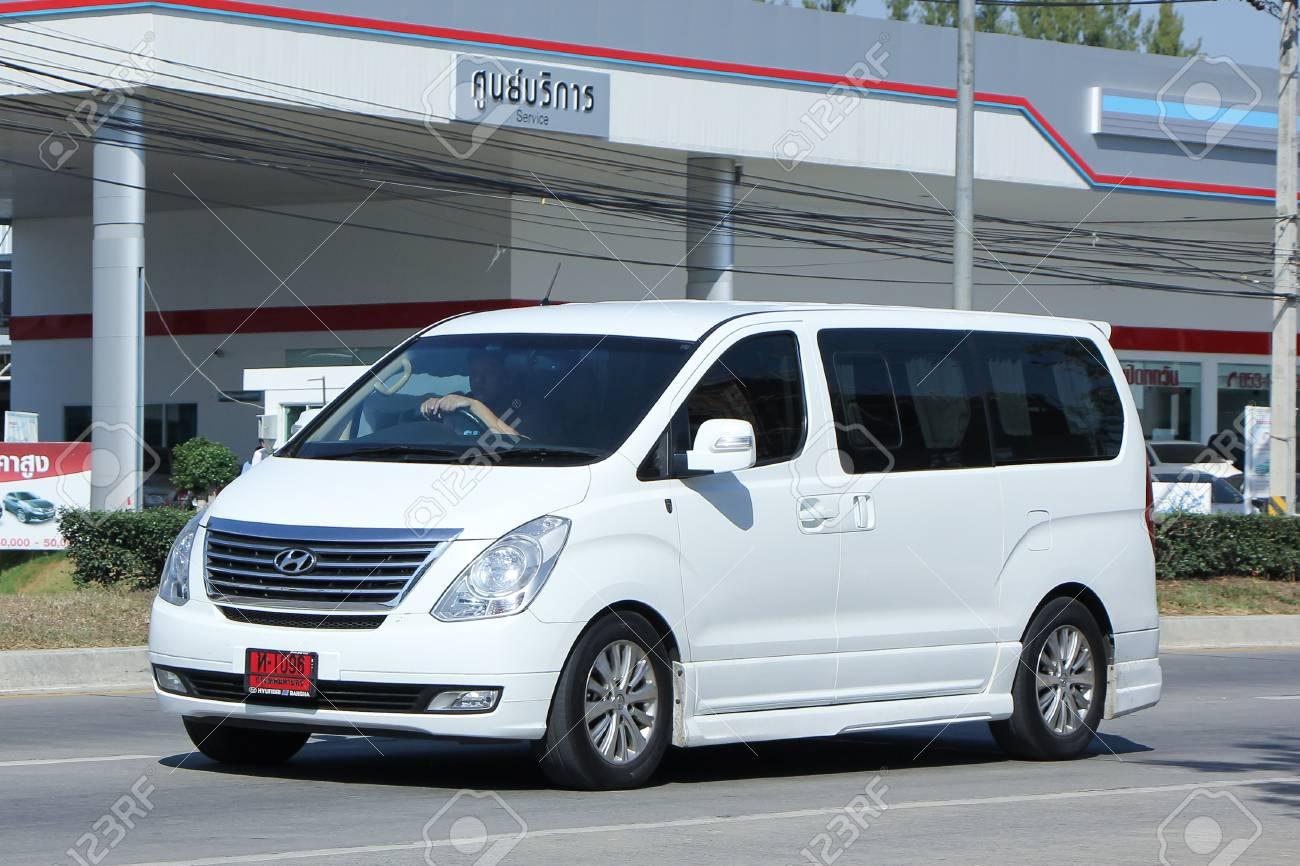 CHIANGMAI, THAILAND -NOVEMBER 28 2015: Van. Hyundai.. Stock ...