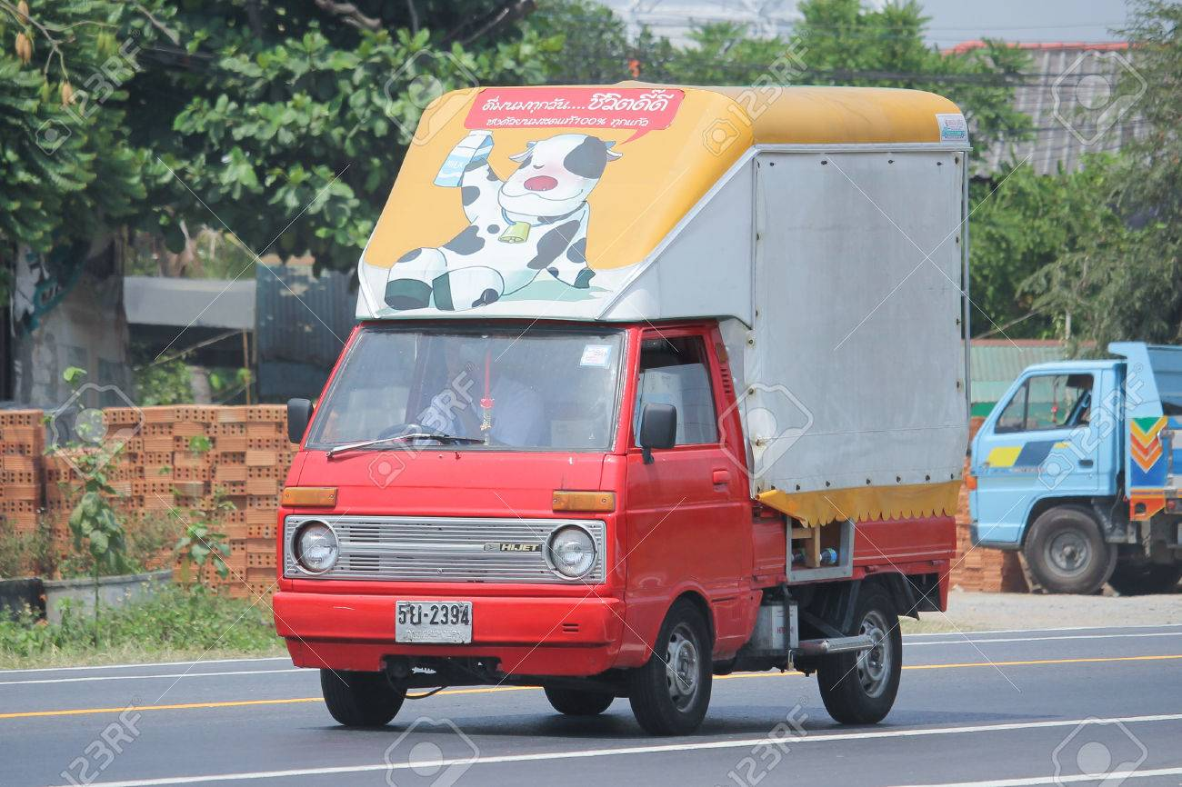 Chiangmai Thailand April 5 2016 Private Mini Truck Of Daihatsu