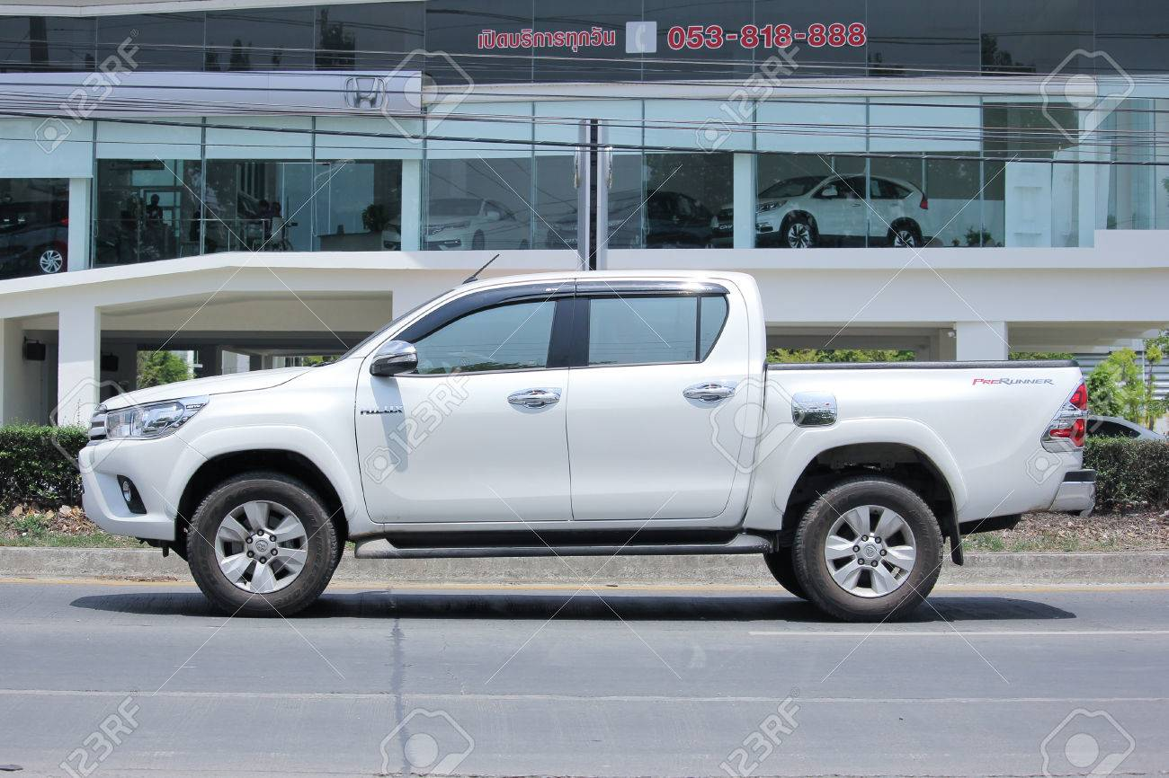 CHIANGMAI, THAILAND -MAY 26 2016: Private Pickup Toyota Hilux