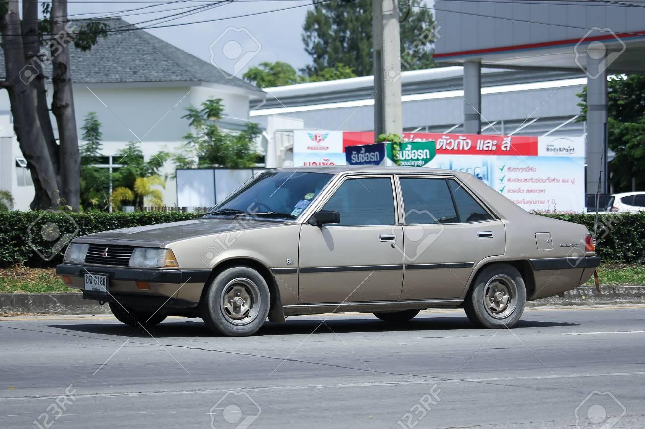 Mitsubishi Galant 2016 >> Chiangmai Thailand August 10 2016 Old Private Car Mitsubishi