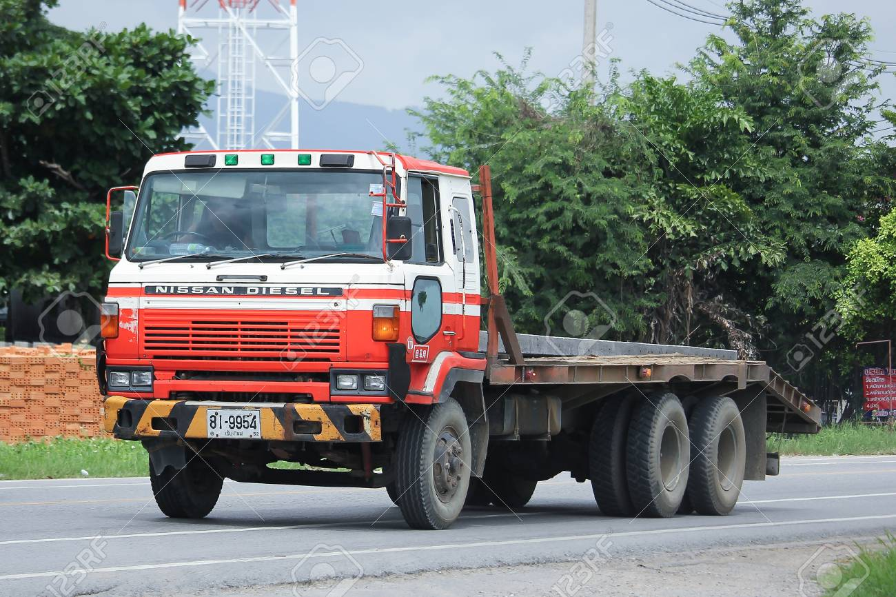 Nissan Diesel Truck >> Chiangmai Thailand August 18 2016 Private Old Nissan Diesel