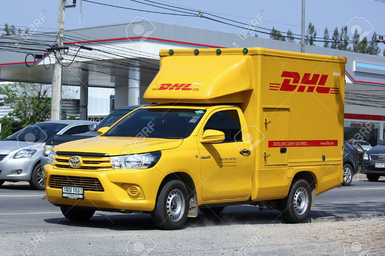 Dhl Pickup Locations >> Chiangmai Thailand February 29 2016 Dhl Express And Logistics