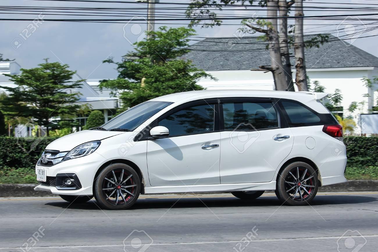 Chiang Mai Thailand November 28 2016 Private Honda Mobilio