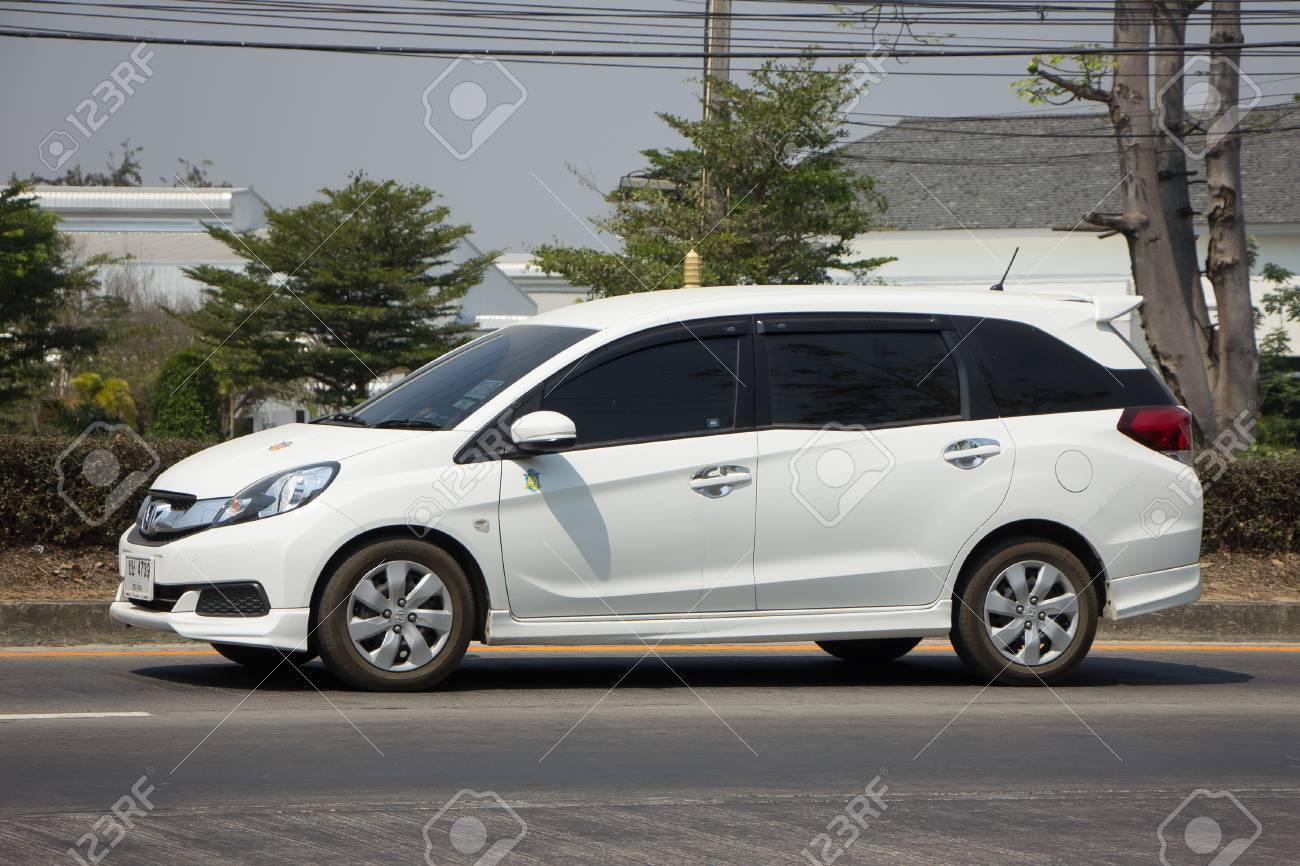 Chiang Mai Thailand March 3 2017 Private Honda Mobilio Van