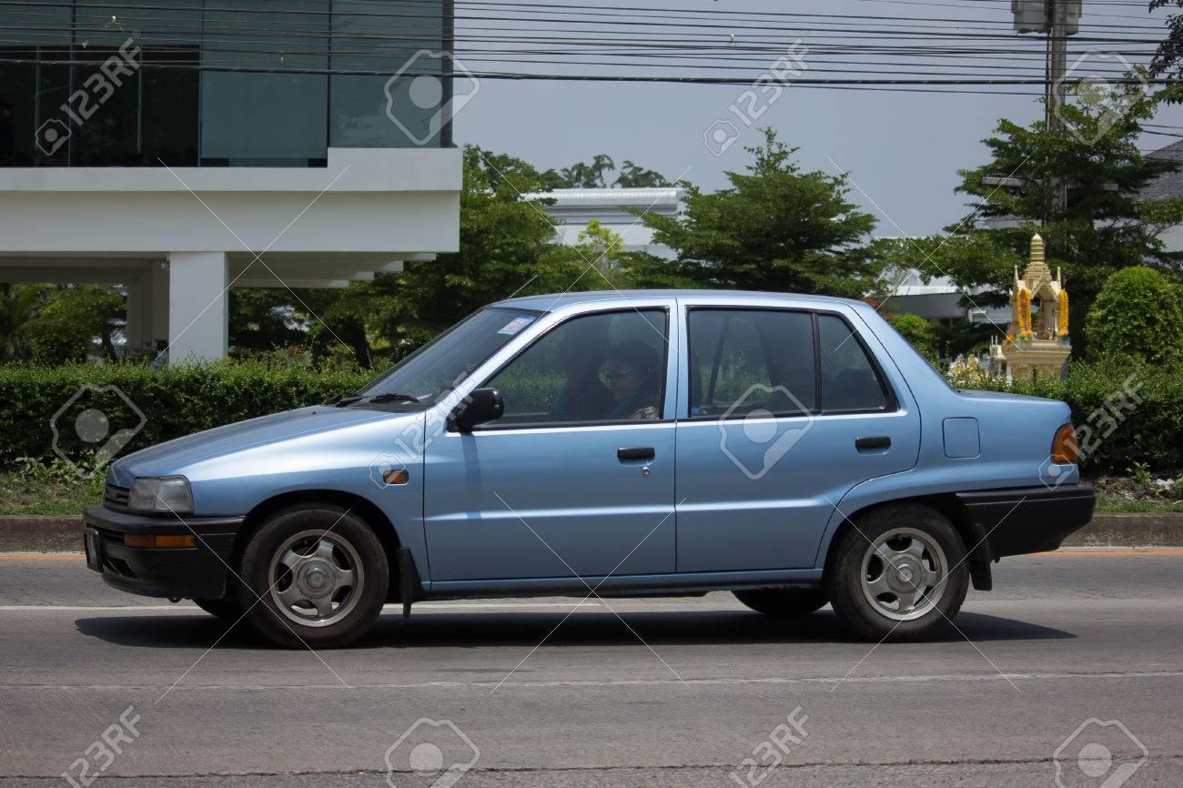 Chiang Mai Thailand May 22 2017 Private Old Car Daihatsu Stock