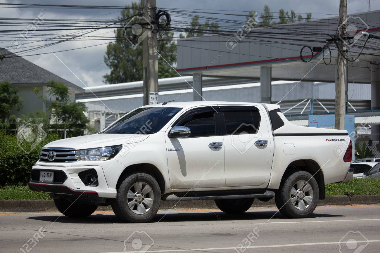 Toyota Hilux 2017 >> Chiang Mai Thailand August 22 2017 Private Toyota Hilux