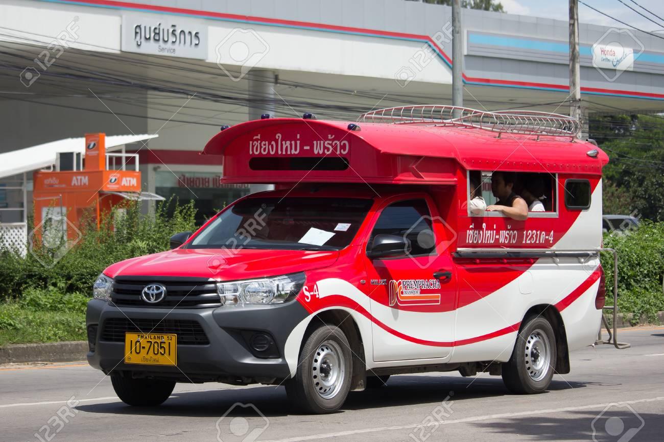 Toyota Mini Truck >> Chiang Mai Thailand September 5 2017 Toyota Hilux Revo Orange