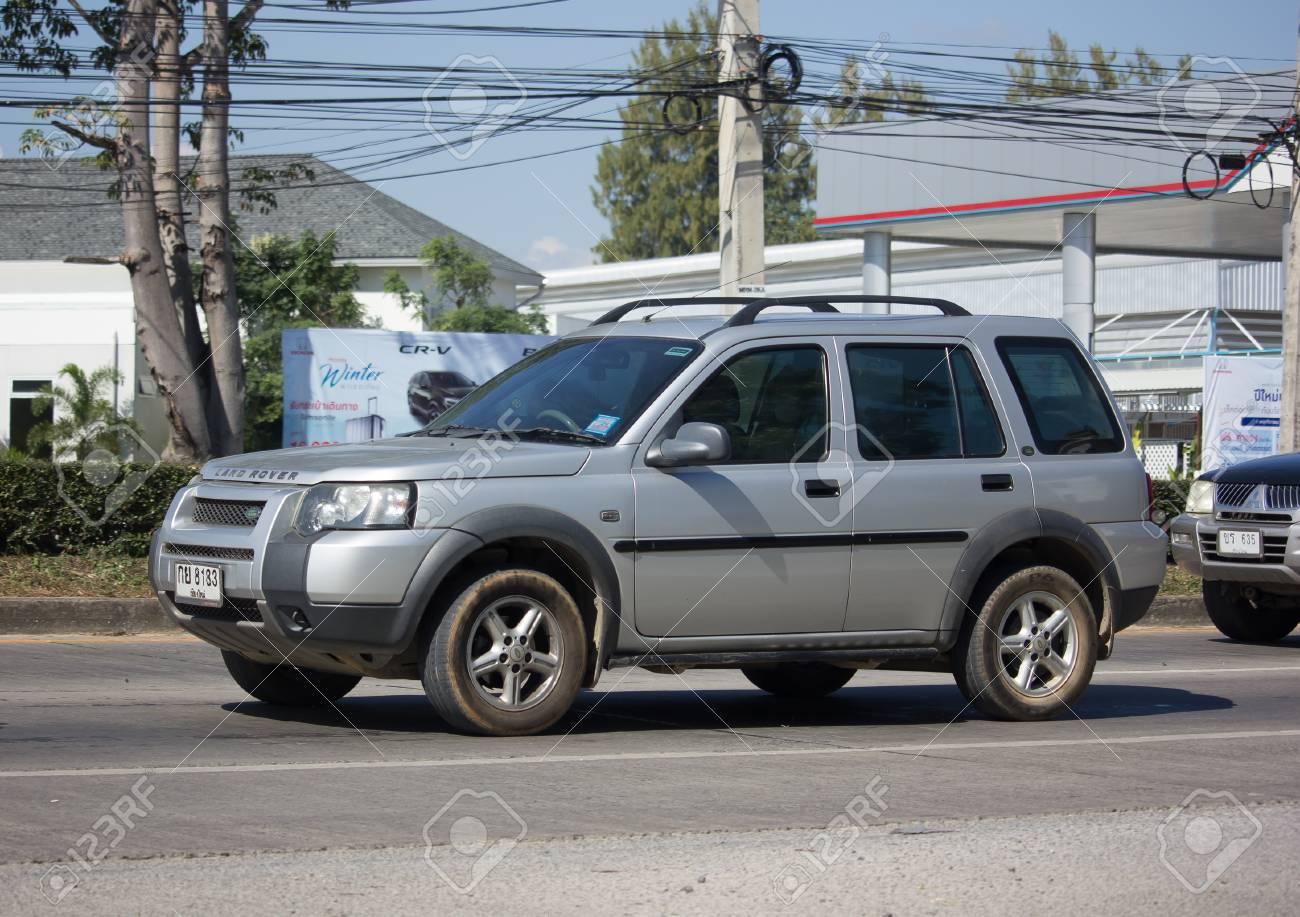 Chiang Mai Thailand November 30 2017 Private Suv Car Black