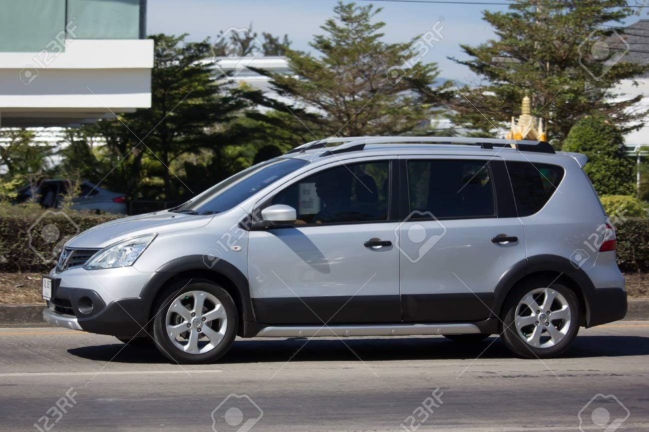 Chiang Mai Thailand January 25 2018 Private Nissan Livina Stock