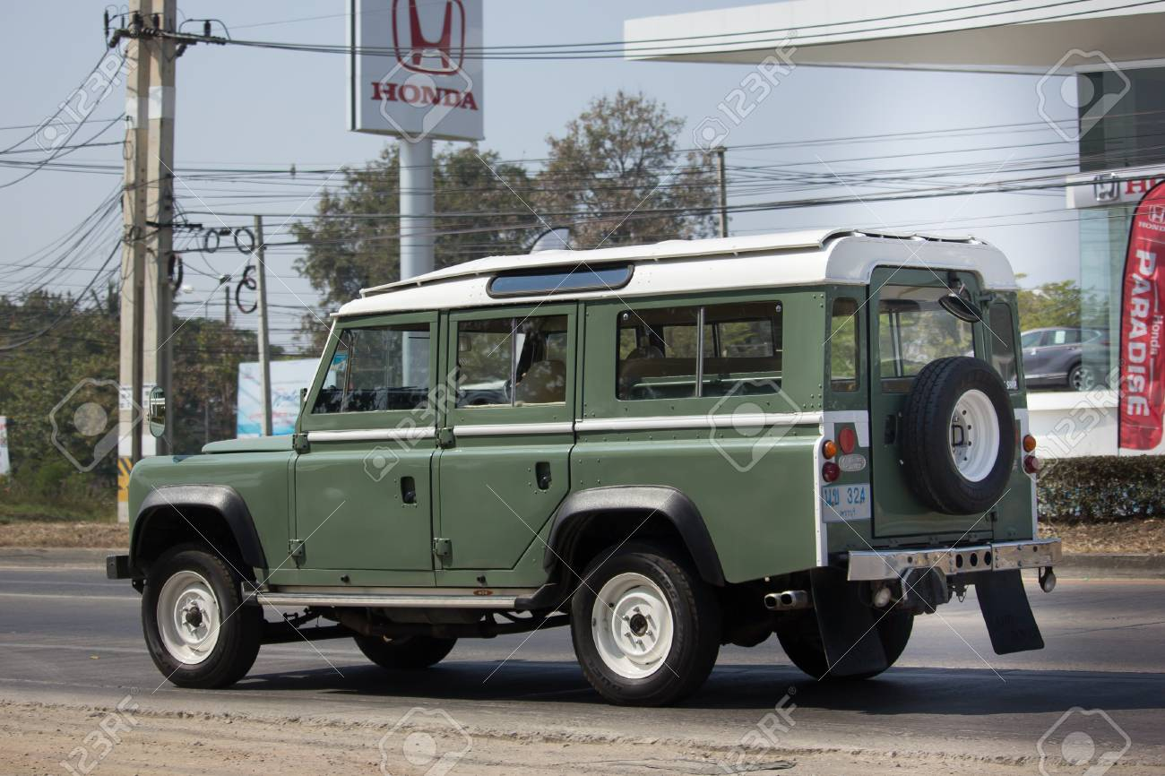 Land Rover Truck >> Chiang Mai Thailand February 8 2018 Old Private Car Land Rover